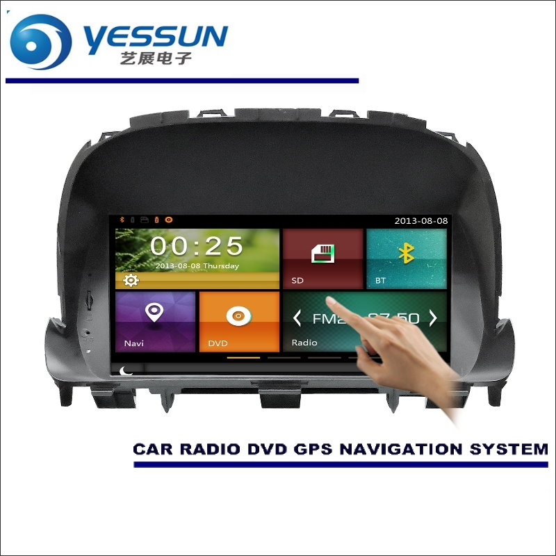 YESSUN For Vauxhall Mokka X / For Opel Mokka 2009~2016 Car Radio CD DVD Player Amplifier HD TV Screen GPS Navigation Audio Video