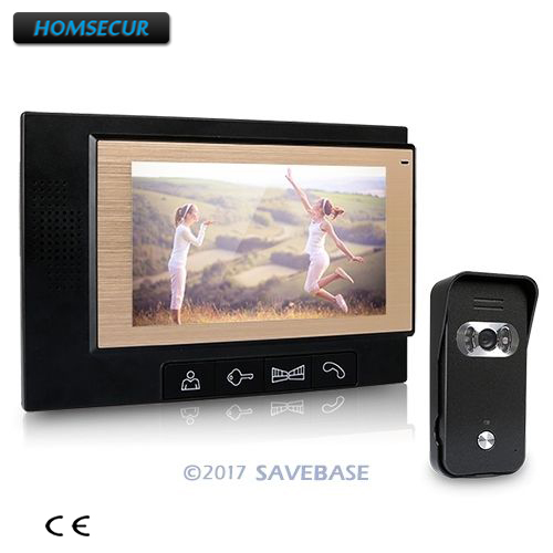 HOMSECUR 7 LCD Video Door Phone DoorBell Intercom System 700TVL Camera Night VisionHOMSECUR 7 LCD Video Door Phone DoorBell Intercom System 700TVL Camera Night Vision