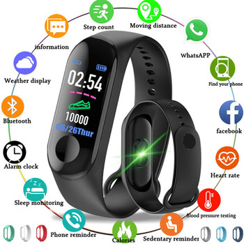 HOT Smart Band Fitness Tracker Watch Smartband Step HR Bracelet For IOS/Xiaomi/Honor PK Mi Band 3/4 Fit Bit 5 Not Xiomi