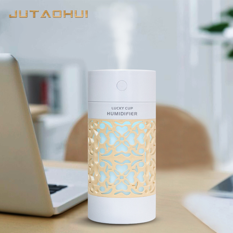 250ML Ultrasonic Aroma Humidifier Air Diffuser Simplicity Lotus Purifier Atomizer Essential Oil Diffuser Difusor D