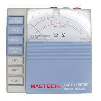 MASTECH MS5209 Analog Earth Resistance Test Meter Megger Megometro Analog 1 1K Low Power Pointer Ground