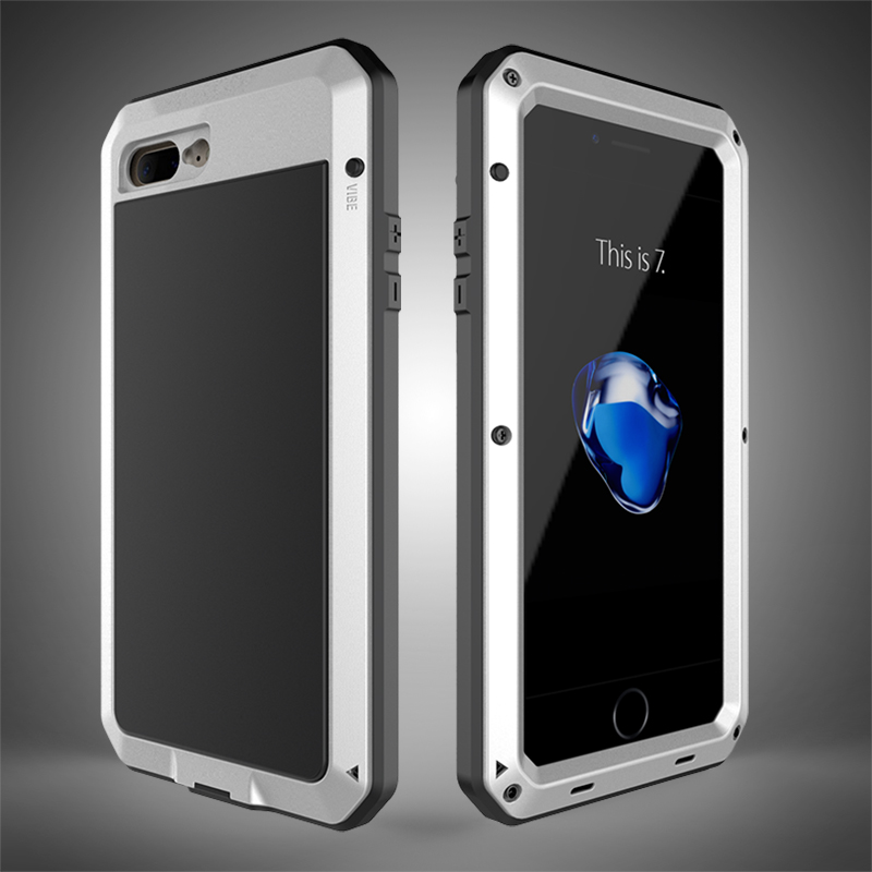 HTB1Em66eSBYBeNjy0Feq6znmFXaM Heavy Duty Protection Doom armor Metal Aluminum phone Case for iPhone 11 Pro Max XR XS MAX 6 6S 7 8 Plus X 5S 5 Shockproof Cover