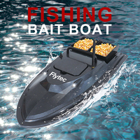 Flytec V007 RC Boats Updated Version 4.8KM/H 2.4Ghz Electronic Speed Cruise Bait Throwing Boat Outdoor Fishing Nesting Boat