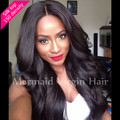 4*4'' Silk Top Full Lace Wigs 150 Density Brazilian Virgin Human Hair Silk Base Front Lace Wigs
