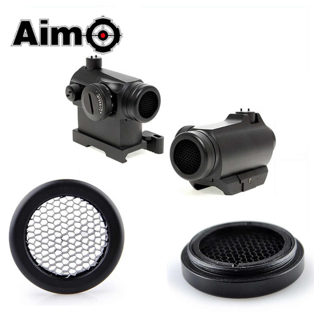 AIM-O Airsoft Killflash/Kill Flash Voor Solar Red Dot T-1/T1/T-2/T2/TR02 Scope accessoires Tactical Zonnescherm Lens Cover