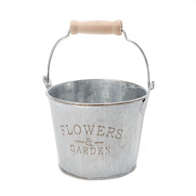 Iron Flower Garden Vase 1