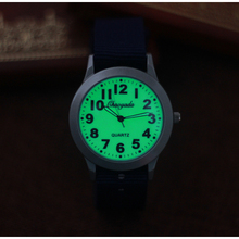 Men's Quartz Watch Boy Outdoor Sports Watch Fluorescent Dial