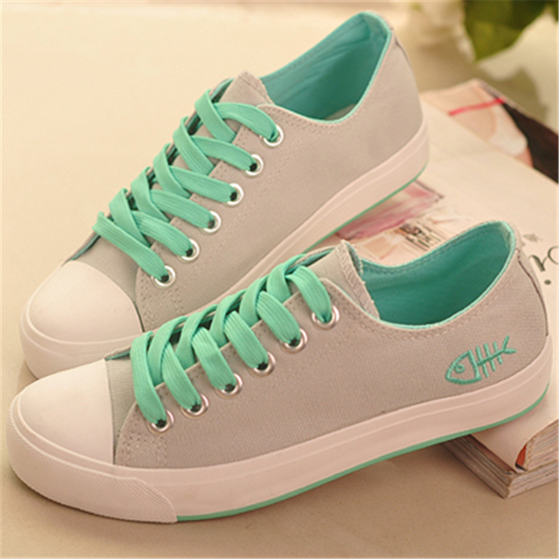 2016 Women Shoes Spring Summer Casual Shoes Women Canvas Shoes Flats Breathable Solid Color Flat With