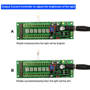 Image 3 - 1X บอร์ด Self   adapt จำหน่าย HO N O LED Street Light Hub DC AC แรงดันไฟฟ้า PCB012 รถไฟ power Control