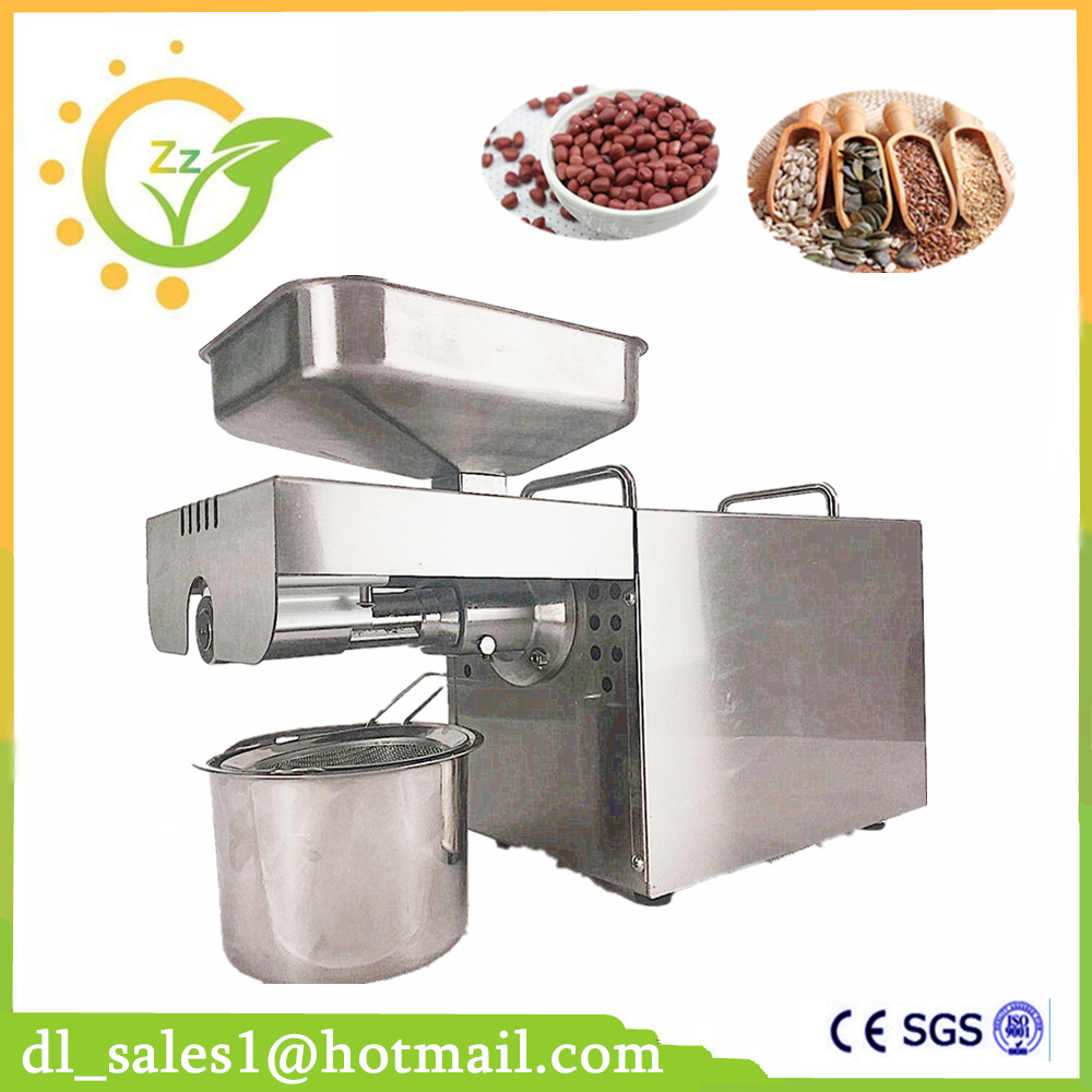 Good Quality Oil Extraction Expeller Pressed Oil Press Machine Stainless Steel 110V 220V Choose Hot Sale Oil Press Machine