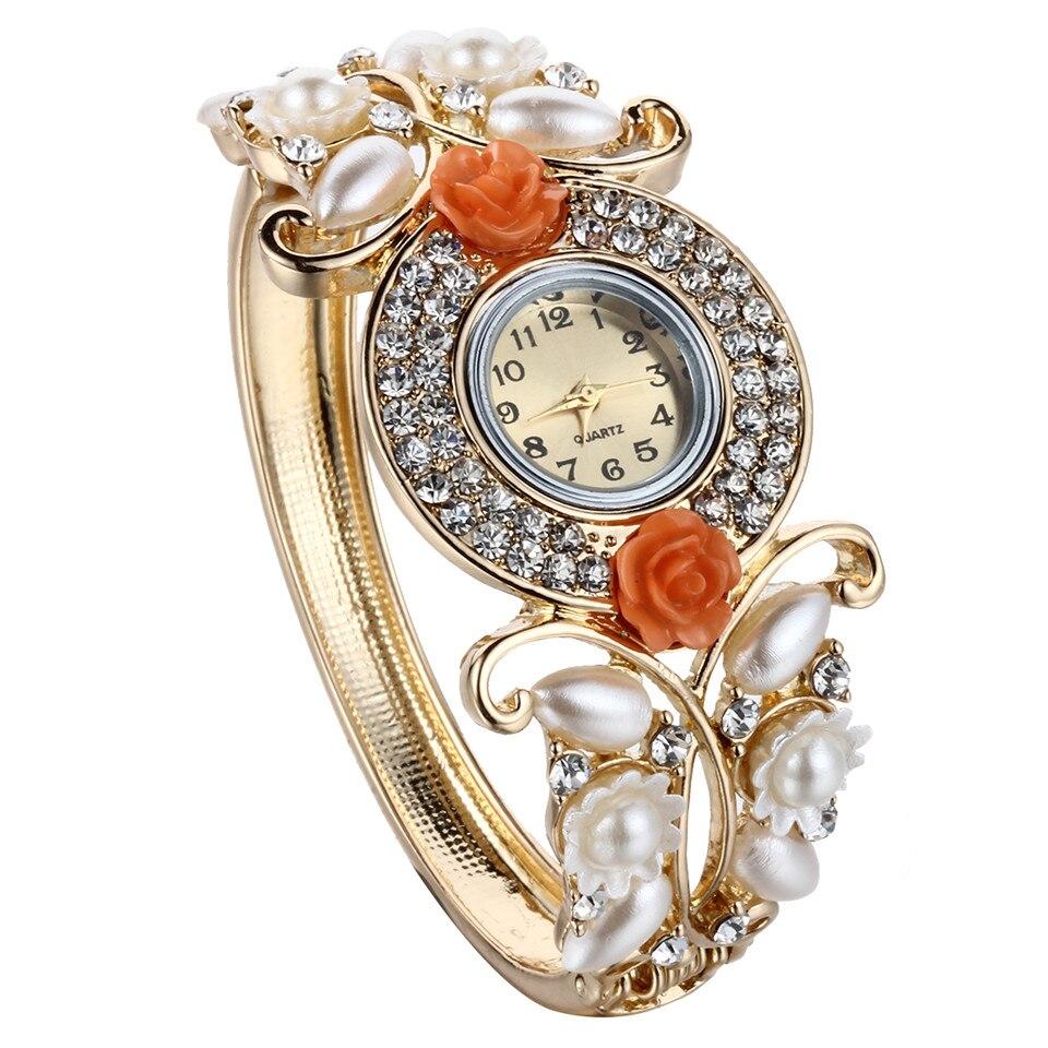 1PCS Women Watches 2015 New Design Charms Luxury Zircon Bangles ...