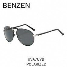 BENZEN Vintage Sunglasses Men Colorful Pilot Male Sun Glasses Driving Glasses For Men UV 400 Shades With Case 9200