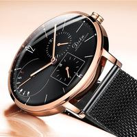 2019 hot selling japan movt quartz watch stainless steel back dw strap relogio men luxury watches