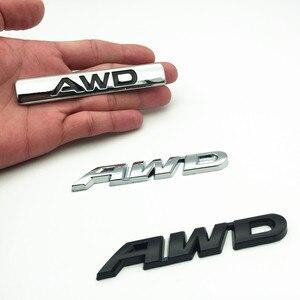 3D металлический логотип автомобиля наклейка эмблема авто значок наклейка для AWD BMW Audi Ford VW Nissan Toyota 4X4 4WD полный привод внедорожник
