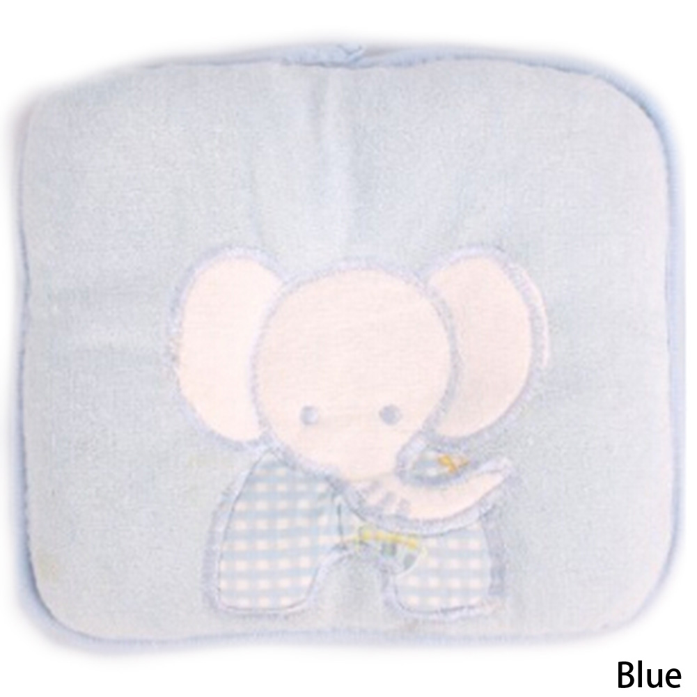 Baby Soft Childrens Organic Cotton Baby Animals Stereotypes Pillow Backs And Both Positional Three Colors