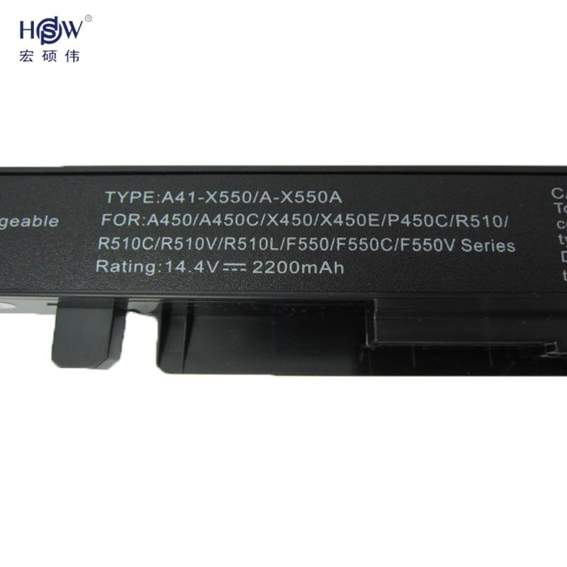 Batería para portátil HSW para Asus A41-X550 A41-X550A A450 A550 - Accesorios para laptop - foto 3