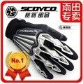 Scoyco A008 luvas de dedos completos motocicleta luvas cavaleiro profissional ao ar livre luvas de moto