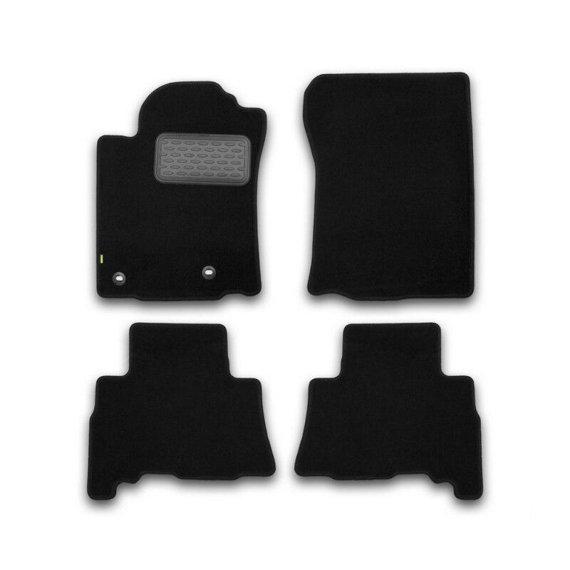 Mats in salon Klever Standard For TOYOTA Land Cruiser 150, 5 seats, 2013-2015, 2015-> внед... 4 PCs (textile) коврики салона rival для toyota rav4 2013 2015 2015 н в резина 65706001
