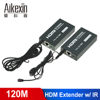 HDMI Extender 60m 100m 120m HDMI over UTP Cat5e/Cat6 LAN Ethernet cable 1080P with IR Remote HDMI Transmitter+Receiver