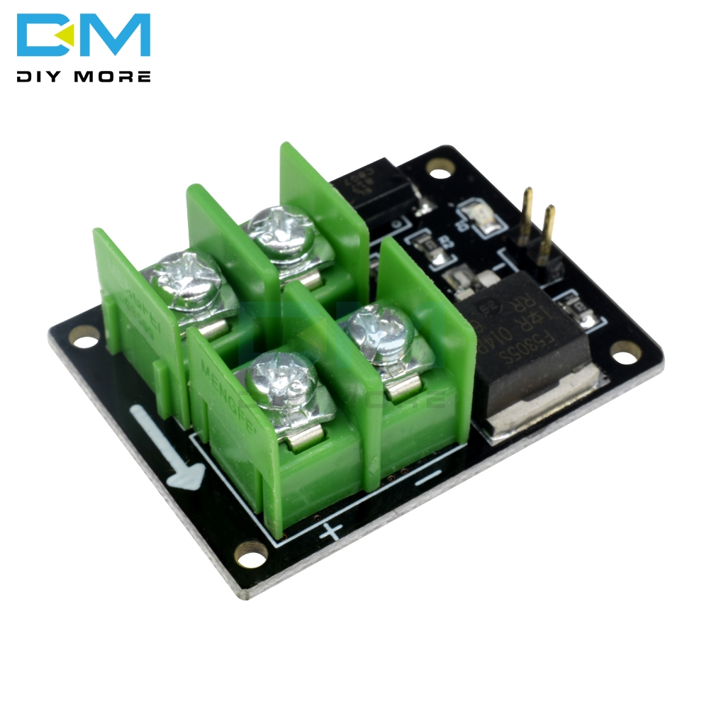 Low Control High Voltage <font><b>12V</b></font> <font><b>24V</b></font> 36V switch Mosfet Module For <font><b>Arduino</b></font> Connect IO MCU PWM Control Motor Speed 3V 5V 22A image