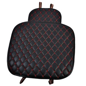 Image 1 - Car seat cushion car interior faux Leather Soft Car seat cover set Pad Mat Chair Cushion for Car