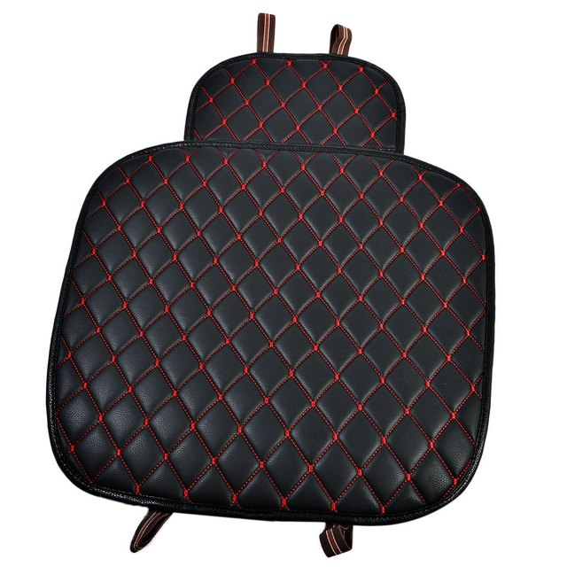 Car Seat Cushion Car Interior Faux Leather Soft Car Seat Cover Set Pad Mat Chair  Cushion