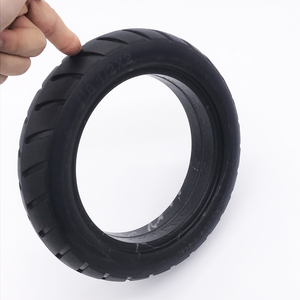 Image 4 - Xiaomi Electric Scooter Tires 8 1/2x2 Tubeless Wheel Tyres Solid Tyre Inflation Free for Xiaomi Electric Scooter Tyre Accessory