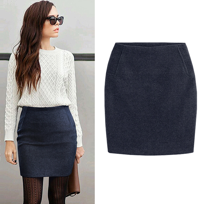 Online Buy Wholesale grey pencil skirt from China grey pencil ...