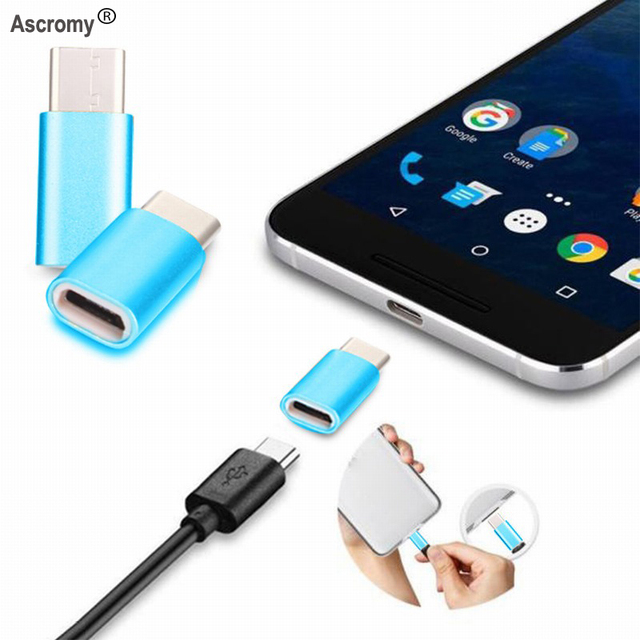 Buy mini usb c adaptador micro usb type c for Adaptador micro usb a usb c