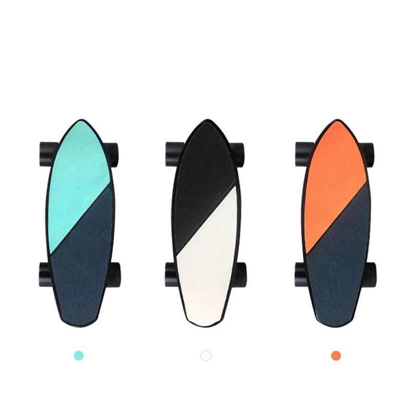 Electric Skateboard w/ Four Wheel Boost & Wireless Remote Control 5