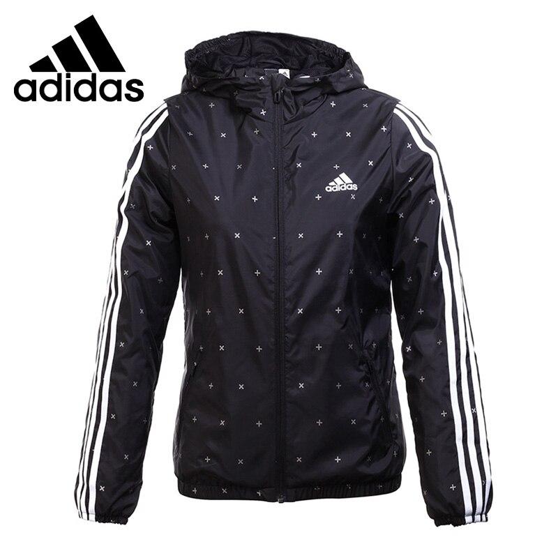 Original New Arrival 2017 Adidas WB AOP 3S Women's jacket Hooded Sportswear original new arrival 2017 adidas wb 3s lineage women s jacket hooded sportswear