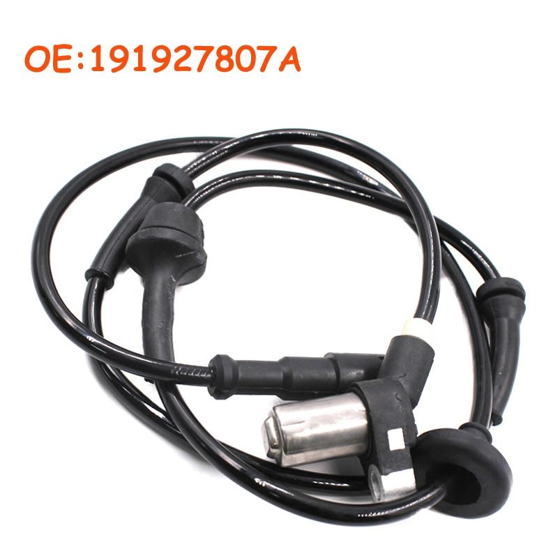 191927807A For Volkswagen Golf Mk 2 Passat B3 B4 1983-1999 Car ABS Wheel Speed Sensor Durable