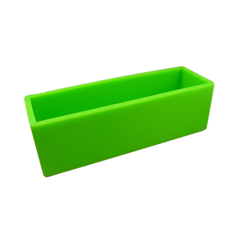 Silicone Loaf Soap Mold with Vertical and Crosswise Dividers for Handmade Render Soaps Mould in Soap Molds from Home Garden