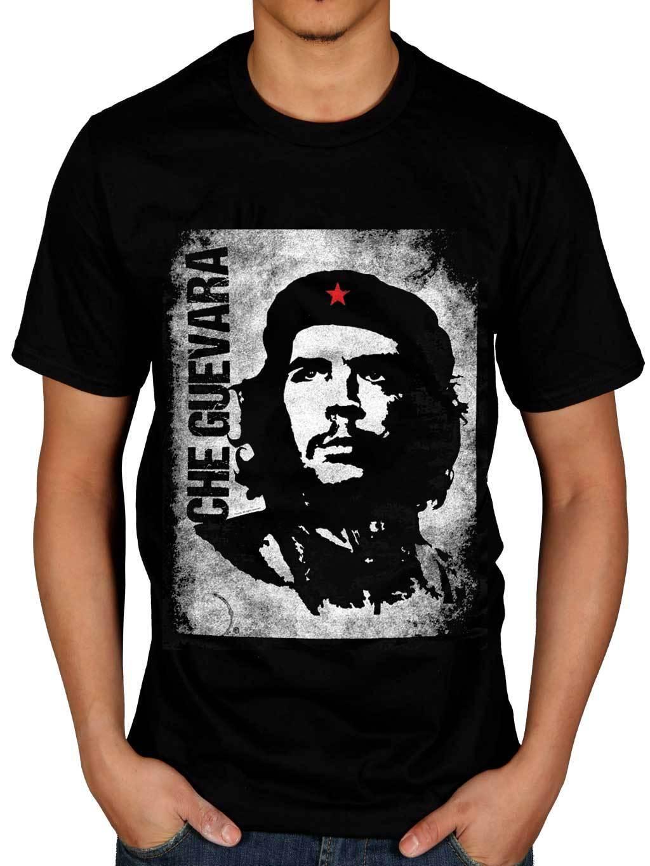 Official Che Guevara Vintage T-Shirt Revolutionist Legend Merchandise Icon Mens T Shirts Fashion 2017 Clothing Top Tee
