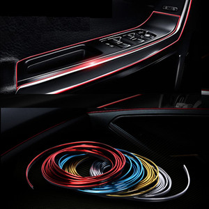 Image 2 - 3M 5M Car Styling Interior Exterior Decoration Strips Stickers for BMW E46 E52 E53 E60 E90 F01 F20 F10 F30 X1 X5 Car Accessories