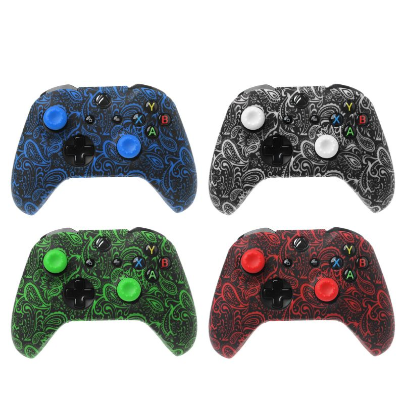 Protective Cover Gamepad Sleeve Case Analog Thumb Grip Stick Cap Soft Silicone Skin Waterproof Anti-Slip For XBox Controller