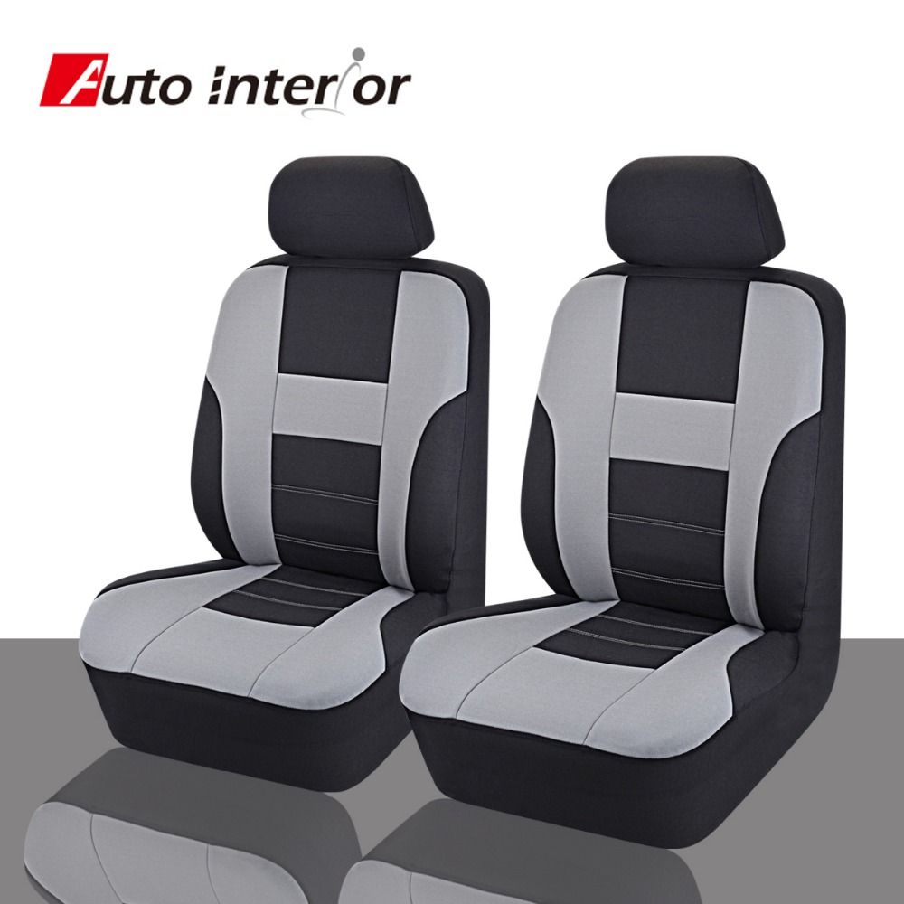 Factory Directly Wholesale Beige color two Front font b Car b font Seat Covers font b
