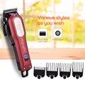 Профессиональная электрическая машинка для стрижки волос  аккумуляторная машинка для стрижки волос  набор  острое лезвие  триммер для воло...