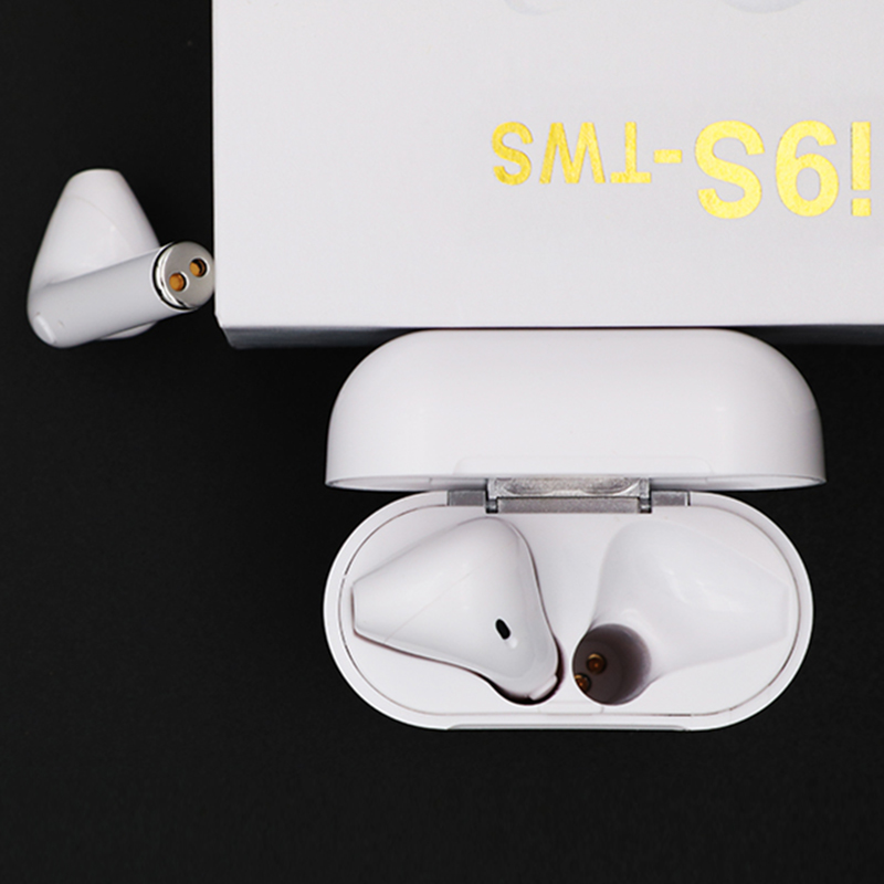 02us Top Quality Mini I9s Tws Bluetooth Headsets Earbuds Wireless Earphones Earpiece For Original Iphone Android Phone Rackstock