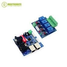 Лучшая цена 1 шт. DMX-RELAY-4CH dmx512 реле светодиодный декодер использование контроллера для светодиодные лампы