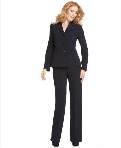 Black Women Business Suit Brand Women Suit Custom Made Women Suit 341