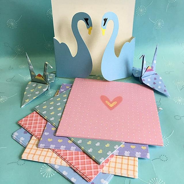 68pcs love of india 14 cm square origami cranes paper folding 68pcs love of india 14 cm square origami cranes paper folding origami materials making paper flowers mightylinksfo Choice Image