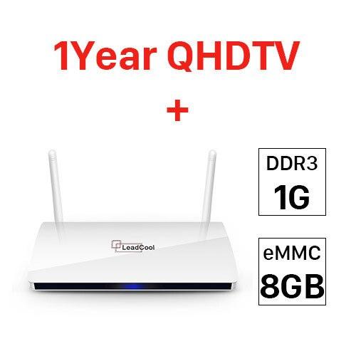 1G 8G 1 year QHDTV