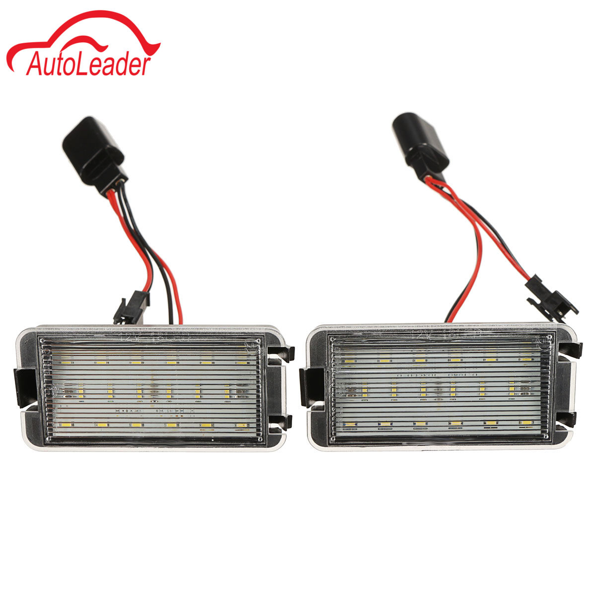 2pcs LED Car Tail Number License Plate Lights Lamps NO error For Seat Ibiza 6L ab for Seat CORDOBA/LEON/TOLEDO 2 pairs canbus no error auto led license plate lamp car number lights for chevrolet canbus cruze all cars 09