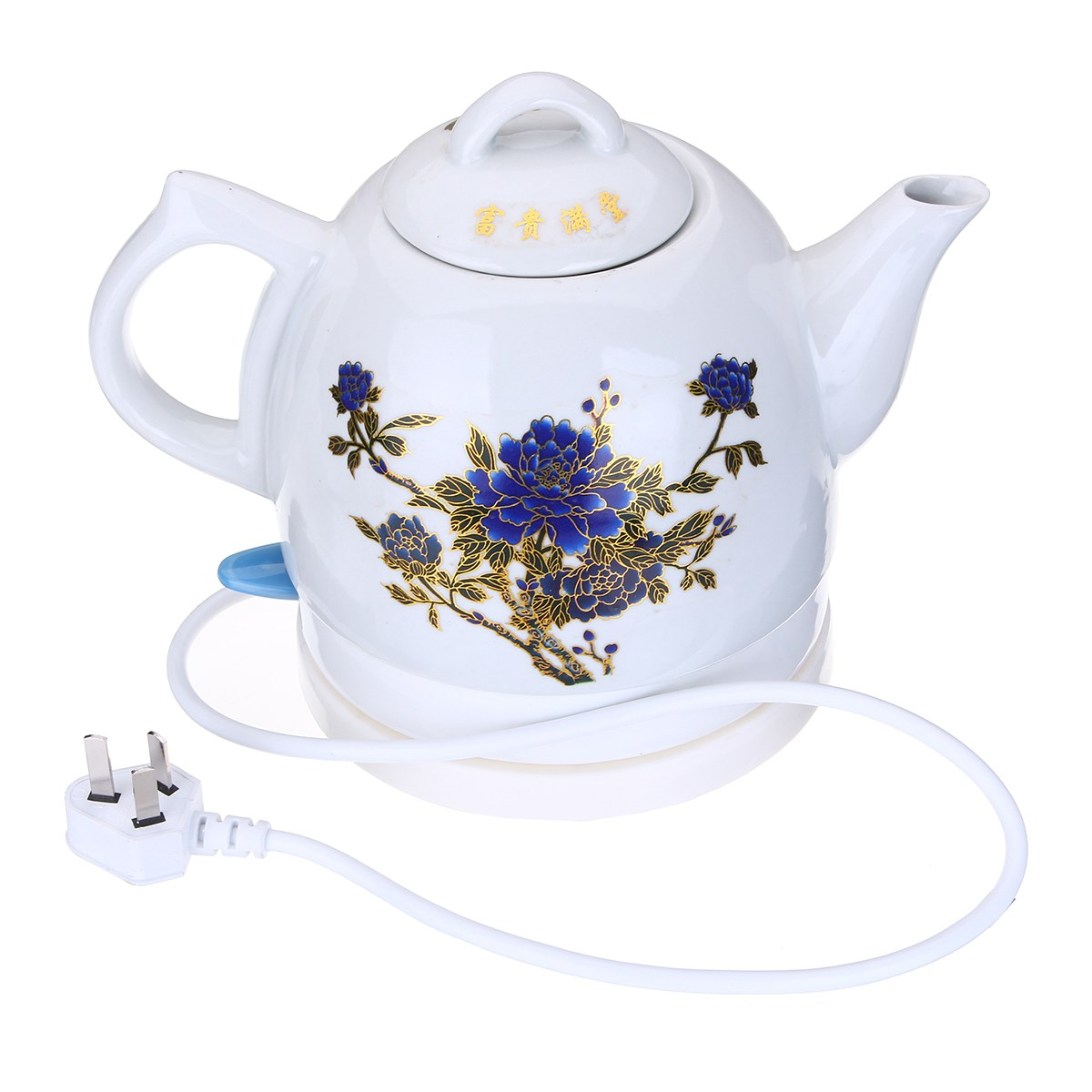 1l Ceramic Electric Color Change Teapot Kettle Jug Fast Boil Warming Tea Pot Teaware Gifts Home Office Tools Drinkware In Teapots From Garden On