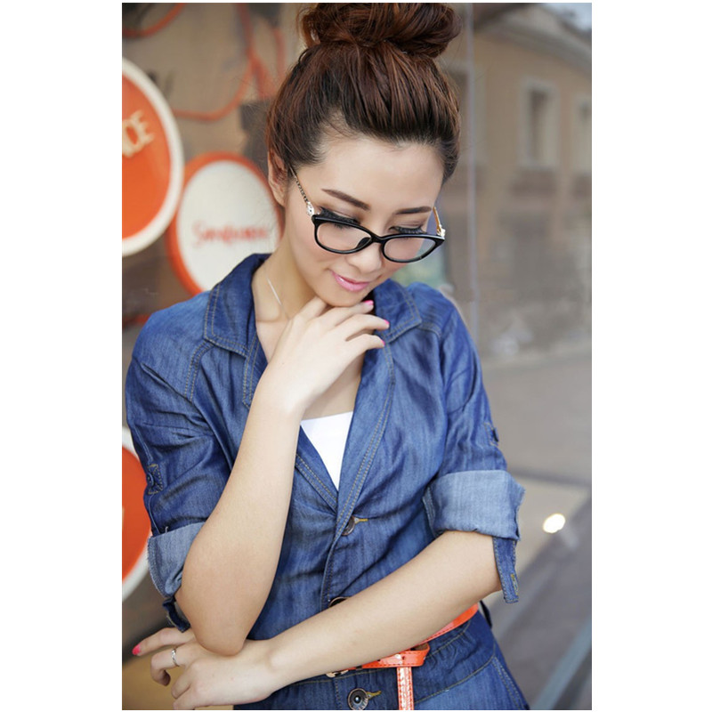 779833d05a Fashion Vintage Leopard Head Plain Eye glasses Men Women Optical Computer  Make Myopia Eyeglasses Frame