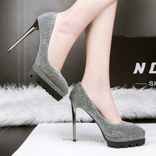 Pointed toe  Women Pumps  2017 New Wild Women High Heels Pumps Shoes Sexy Thin Heels Women Shoes 3 Colour