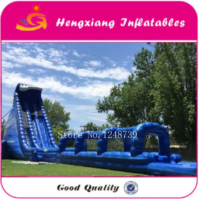 US $2612 5 5% OFF|2017 Hot selling Inflatable water slide,Amusement park  water slide, huge inflatable fantasy pool-in Inflatable Bouncers from Toys  &