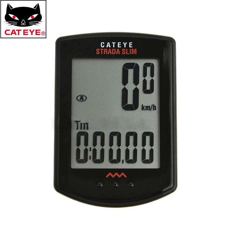 ФОТО CATEYE Cycling Computer Wireless Digital Odometer Speedometer Bike Computer Odometer High Quality 3 Colors