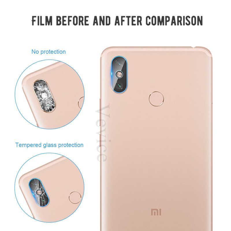 Caméra arrière verre trempé pour Xiao mi rouge mi Note 7 6 5 Pro S2 mi 9 mi 8 A2 Lite Pocophone F1 note7 Film protecteur d'objectif